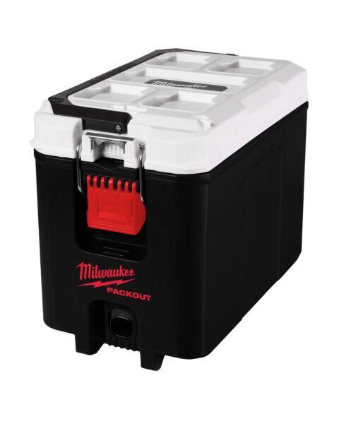 MILWAUKEE PACKOUT HARD COOLER BOX