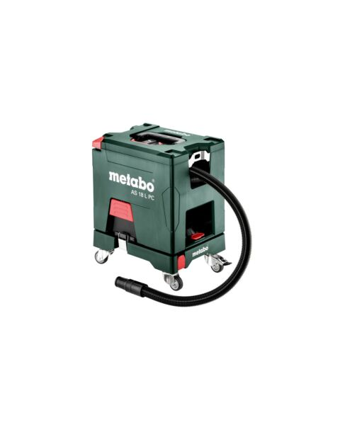 METABO AS18LPC 18V L CLASS VACUUM CLEANER BODY