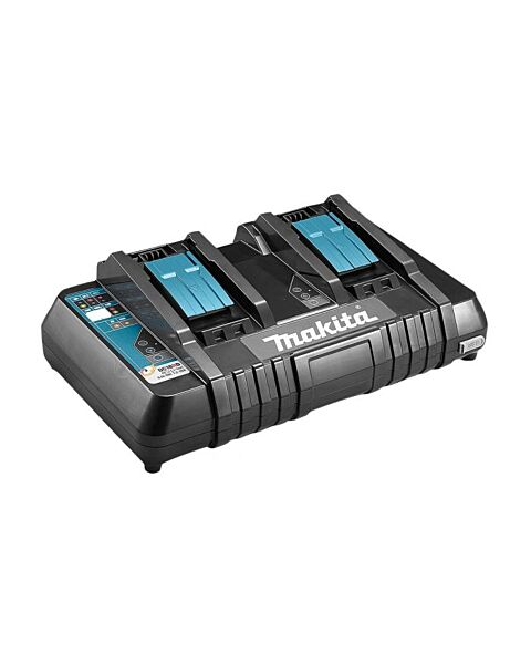 MAKITA 18V TWIN PORT CHARGER WITH USB 240V