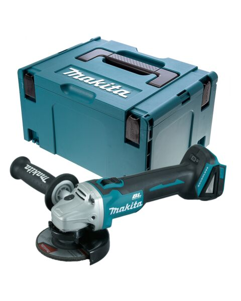 MAKITA 18V LXT B/LESS GRINDER BODY DGA456Z IN MAKPAC CASE