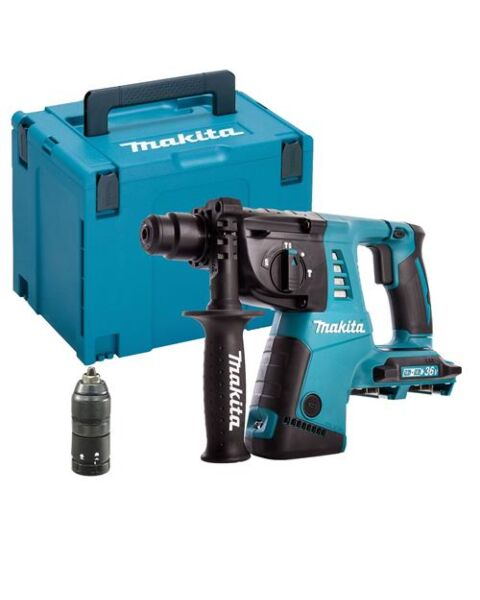 MAKITA DHR264ZJ 36V SDS+ DRILL HAMMER BODY IN MAKPAC 4