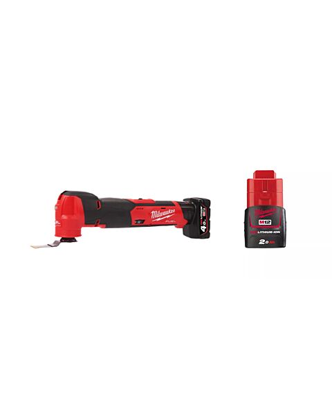 MILWAUKEE M12FMT 12V FUEL MULTI TOOL 1 X 2AH 1 X 4AH