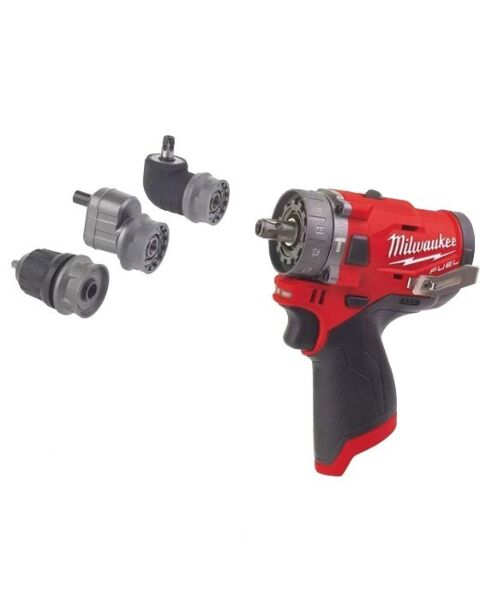 MILWAUKEE M12 12V FUEL 3IN1 COMBI DRILL BODY ONLY