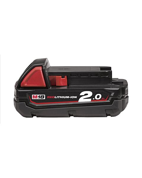MILWAUKEE 18V 2.0AH BATTERY RED LITHIUM ION