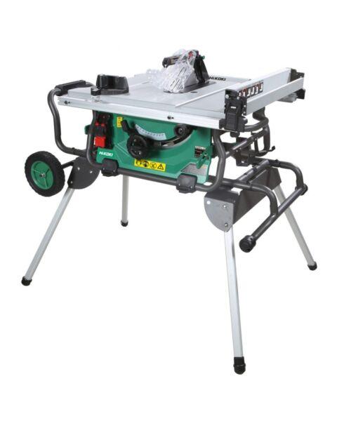 HIKOKI C310DRJ 36V TABLE SAW BODY C/W 376510 LEG STAND