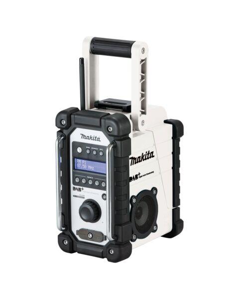MAKITA DMR110 DAB+ SITE RADIO AM/FM AUX WHITE