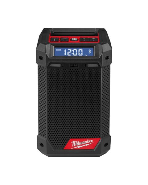MILWAUKEE M12RCDAB+ RADIO CHARGER BLUETOOTH USB M12 12V