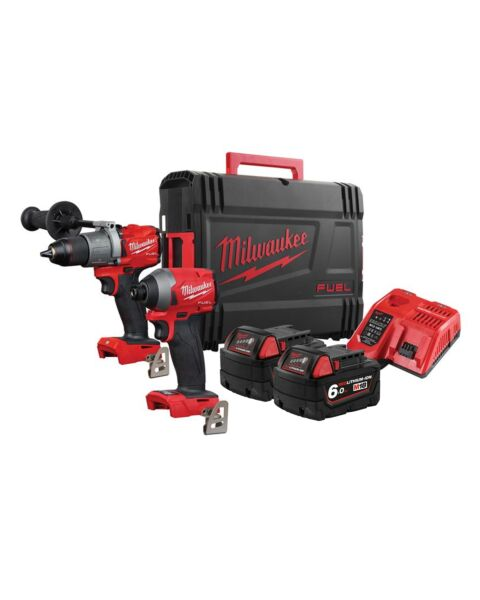 MILWAUKEE M18FPP2A2-602P 18V TWIN KIT 2 X 6.0AH PACKOUT