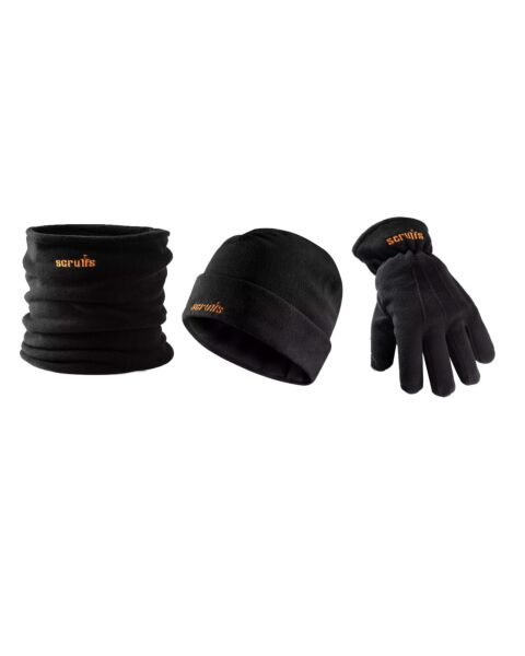 SCRUFFS WINTER ESSENTIALS PK BEANIE/SNOOD/GLOVES