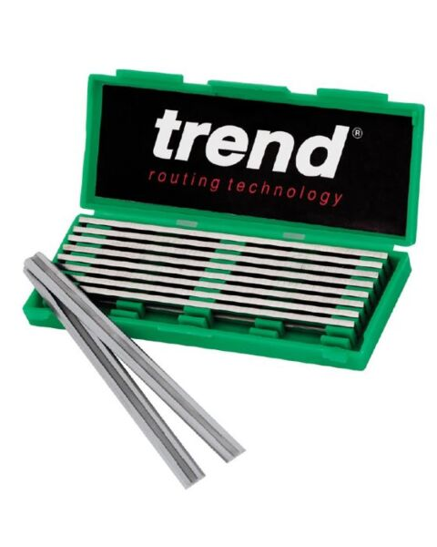 TREND 5 x PLANER BLADE PAIRS (5 PACKS) 82MM SETS CRAFT-PRO