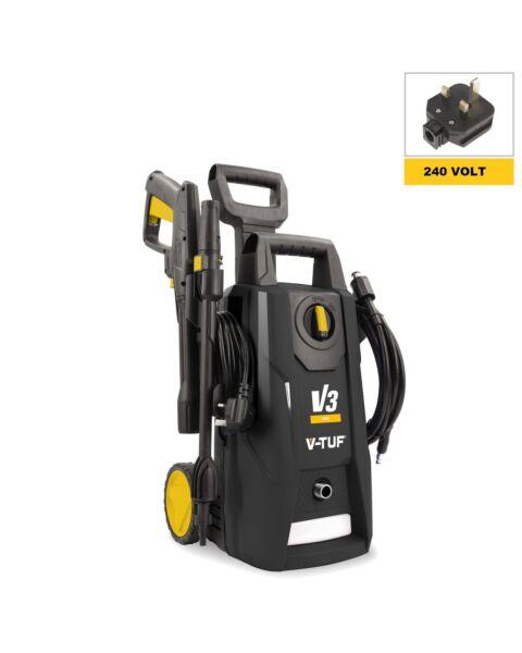 V-TUF V3 240v 1950psi Portable Electric Pressure Washer 135Bar, 7L/min