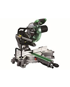 HIKOKI C8FSHG MITRE SAW 110V 216MM SLIDE COMPOUND LASER