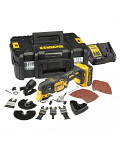 DEWALT DCS355N 18V XR BODY ONLY WITH TSTAK + ACCESSORIES