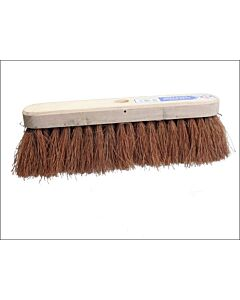 "FAI BRCOCO12 SWEEPING BRUSH 12"" SOFT BRISTLED COCO FIBRE"