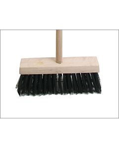 "FAIBRPVC13H YARD BRUSH 13"" COMPLETE WITH HANDLE (STALE)"