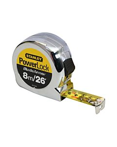 STANLEY 33-526 POWERLOCK TAPE 8 METRE (FORMERLY 33-428)