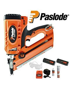 PASLODE IM350+ 1ST FIX NAILER 2 BOXES NAILS + EXTRA BATTERY