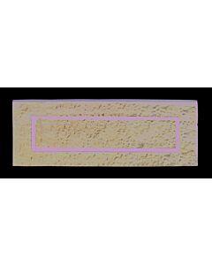 LUDLOW LF5524 LETTER PLATE PLAIN 254MM X 90MM (37060)