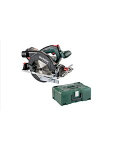 METABO KS18LTX 18V CIRCULAR SAW BODY IN METALOC CASE