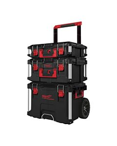 PACKOUT 3PCE SET C/W TROLLEY MILWAUKEE 4932464244