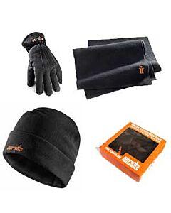SCRUFFS WINTER ACC BOX ( HAT, SCARF ,GLOVES) ONE SIZE BLACK