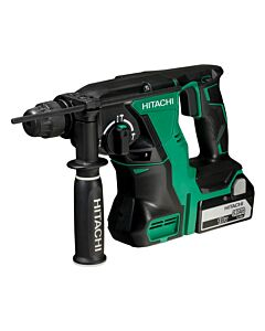 HITACHI 18V B/LESS SDS HAMMER DRILL 2 X 5.0AH STACKING CASE