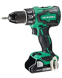 HITACHI 18V B/LESS COMBI DRILL 2 X 3.0AH